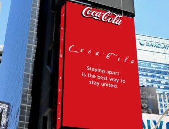 Coca-Cola увеличила межбуквенный интервал в названии собственной торговой марки
