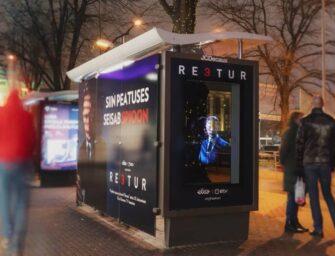 Голографическая наружная реклама сериала «Предатель» заставила таллинцев «разчехлить» смартфоны