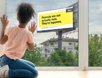 Как американское агентство обучает детей с помощью наружной рекламы и текста из семи слов