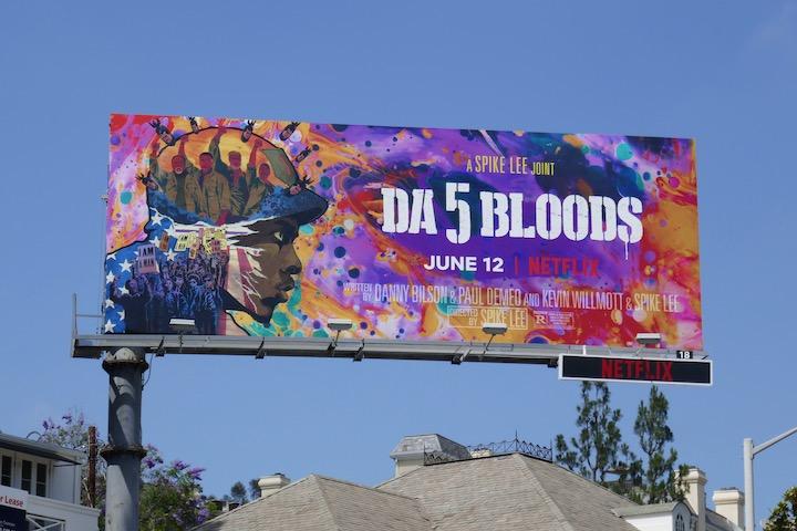 Da 5 bloods movie billboard