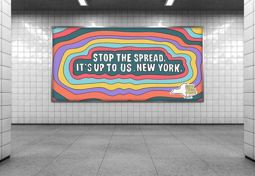 Stop the spread. It's up to us, New York