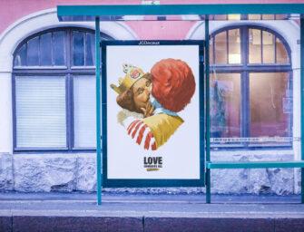 Burger King целуется с McDonald's в рекламе финского ЛГБТ-прайда