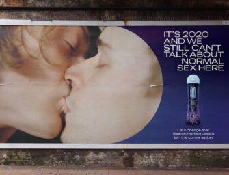 Наружная реклама Durex бросает вызов табуированной теме