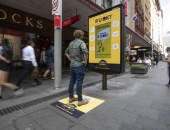 JCDecaux приурочил ко Всемирному дню предотвращения самоубийств интерактивную кампанию в Австралии
