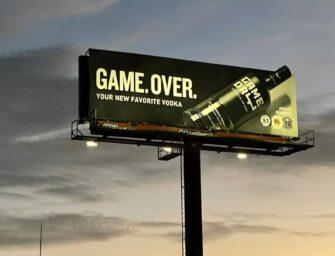 Водочный бренд GameDay рассчитывает благодаря наружной рекламе произвести фурор на Супербоуле