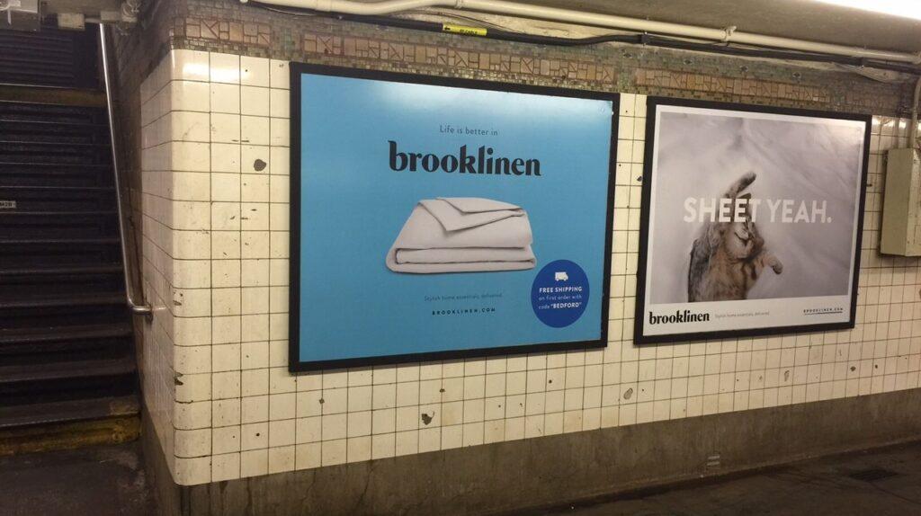 Brooklinen-billboards