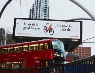 Cannondale анонсировал новые электровелосипеды на знаковых рекламных площадках США и Европы