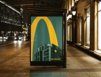 Как агентство Leo Burnett создавало минималистичную OOH-кампанию о доставке McDonald's
