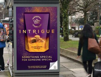 Nestlé буде використовувати перероблений папір в OOH-рекламі