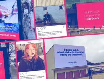 В Финляндии запустили рекламу на выдуманном языке для борьбы с неграмотностью