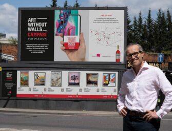 Campari організував найбільшу у Великій Британії художню галерею в зовнішній рекламі