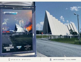 «Война будущего» рекламируется в Скандинавии апокалиптичной OOH-кампанией
