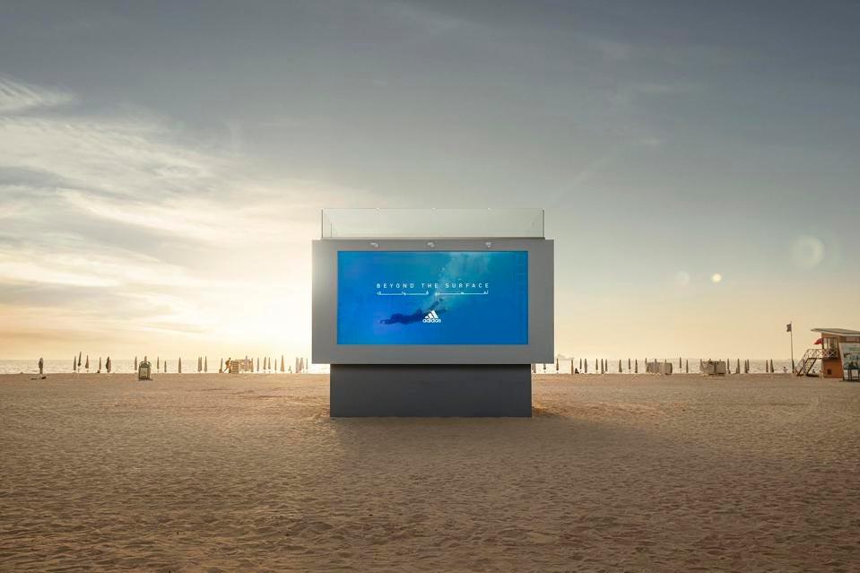 Adidas-swimmable-billboard