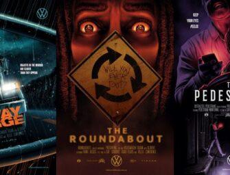 Паралельне паркування може стати кошмаром, тож Volkswagen створив рекламу в стилістиці постерів до фільмів жахів
