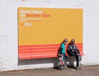 Уличная мебель как творческий способ заявить о себе