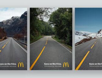 McDonald's построил кампанию о безопасности дорожного движения на остроумном каламбуре