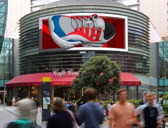 Ocean Outdoor освоил анаморфную рекламу