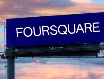 Foursquare и Clear Channel Outdoor будут продвигать межплатформенное измерение DOOH